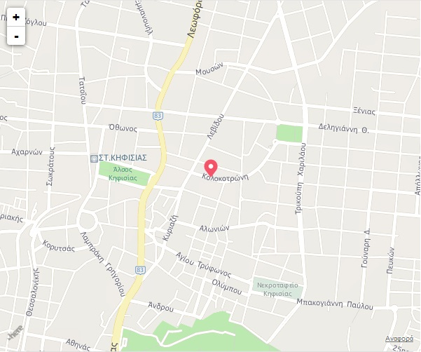 hyde kifisia map